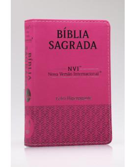 Bíblia Sagrada | NVI | Letra Hipergigante | Luxo | Pink