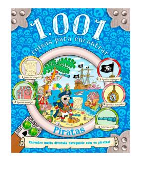 1.001 Coisas para Encontrar | Piratas | Igloo Books