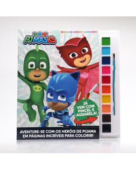PJ Masks   Livro Para Pintar