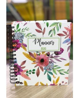 Planner 2020   Flores   Capa Dura   Feminina