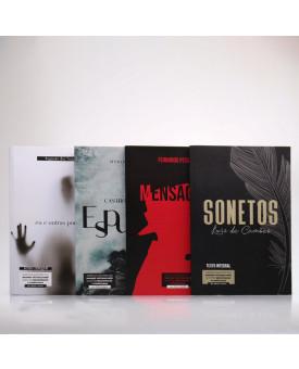 Kit 4 Livros   Para Vestibular   Poemas   Literatura Brasileira e Portuguesa