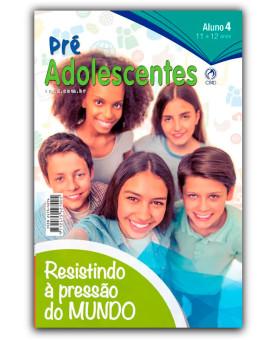 Revista | Escola Bíblica Dominical | Pré-Adolescente | Aluno | 4° Trimestre | 2019