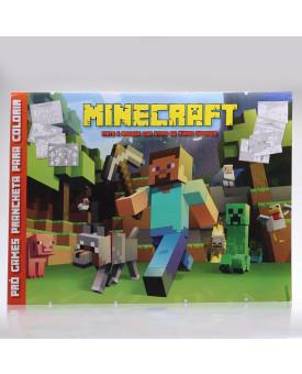 Prancheta Para Colorir   Pró Games - Minecraft