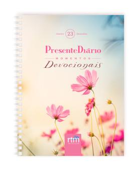 Presente Diário 23 | Momentos Devocionais | Tradicional | Feminino | Wire-O | 2020