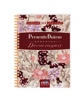 Agenda Presente Diário Vol. 21 | Feminina | Momentos Devocionais | Capa Dura | 2018