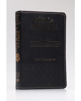 Bíblia Sagrada | NVI | Letra Hipergigante | Luxo | Preta