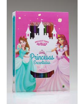 Megakit Para Colorir | Princesas Encantadas | Brasileitura