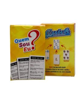 Jogo Quem Sou Eu? + Quick Card Game 2 em 1