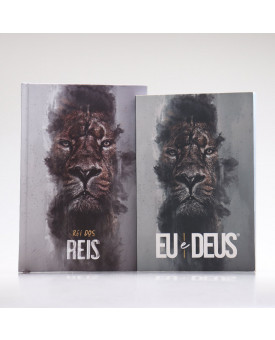 Kit Rei dos Reis | Bíblia + Eu e Deus | Orar e Vencer