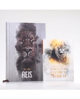 Kit Bíblia ACF Rei dos Reis + Devocional Andrew Murray | Crescendo na Graça