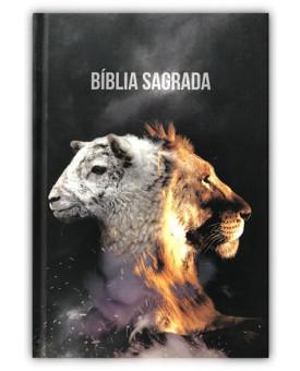 Bíblia Sagrada | NAA | Letra Normal | Capa Dura | Leão e Cordeiro