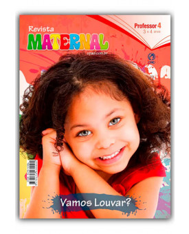 Revista | Escola Bíblica Dominical | Maternal | Professor | 4° Trimestre | 2019