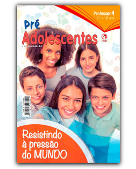Revista | Escola Bíblica Dominical | Pré-Adolescente | Professor | 4° Trimestre | 2019