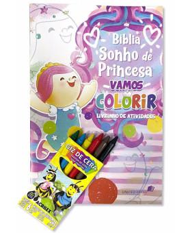 Revista | Sonho de Princesa | Vamos Colorir | Com Giz de Cera
