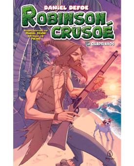 Robinson Crusoé | Em Quadrinhos | Daniel Defoe