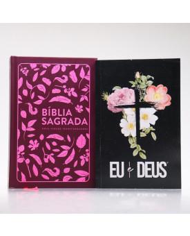 Kit Bíblia Sagrada NVT + Devocional Eu e Deus | Preciosa Sabedoria