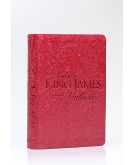 Bíblia Sagrada | King James Para Mulheres | Letra Normal | Luxo | Vermelha