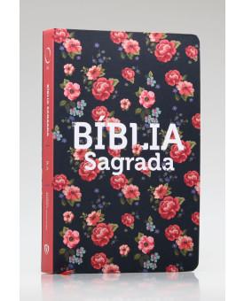 Bíblia Sagrada | RA | Letra Grande | Soft Touch | Rosas
