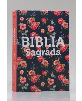 Bíblia Sagrada | RC | Letra Média | Capa Dura | Rosas