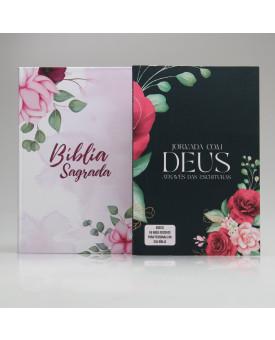 Kit Jornada com Deus Através das Escrituras Floral | Pétalas