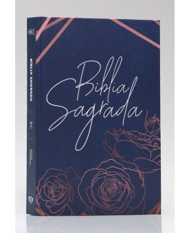 Bíblia Sagrada | RC | Letra Média | Capa Dura | Rose Gold