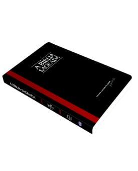 A Bíblia Sagrada | ACF | Letra Gigante | Fina | Brochura | Preta