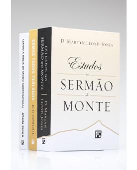 Kit 3 Livros | Capa Dura | Teologia Reformada