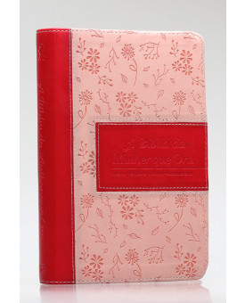 A Bíblia da Mulher que Ora | NVT | Letra Normal | Luxo | Rosa