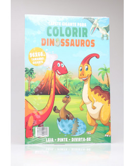 Tapete Gigante Para Colorir | Dinossauros
