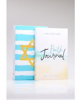 Kit Bíblia NVI Yeshua + Faith Journal | Mulher Virtuosa