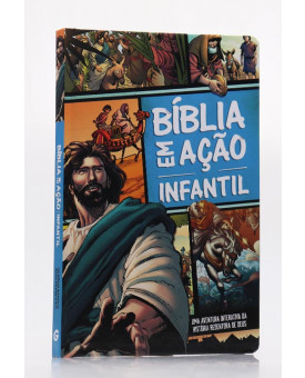 Bíblia em Ação Infantil | Capa Dura | Quadrinhos