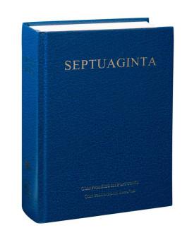 Septuaginta | Letra Normal | Capa Dura | Azul