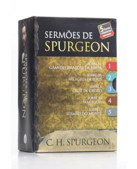 Box 5 Livros | Sermões de Spurgeon | C. H. Spurgeon