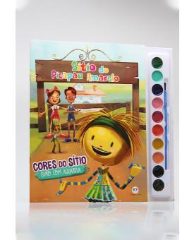 Livro com Aquarela | Sítio do Picapau Amarelo | Ciranda Cultural