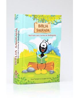 Bíblia Sagrada | NTLH | Letra Normal | Capa Dura | Ilustrada Com a Turma Do Smilingüido