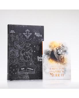 Kit Bíblia ACF Sola Scriptura + Devocional Andrew Murray | Crescendo na Graça