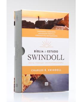 Bíblia de Estudo Swindoll | NVT | Letra Grande | Capa Sintética | Petra