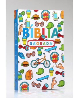 Bíblia Sagrada | ACF | Letra Média | Capa Dura | Wall Color