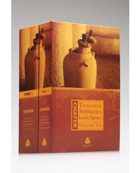 Box 2 Livros | Teologia Sistemática | Vol.1-8 | Lewis Sperry Chafer