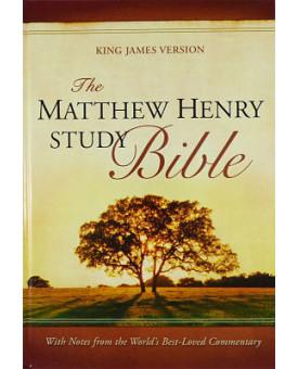 The Matthew Henry Study Bible | Letra Normal | Capa Dura | índice