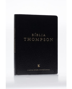 Bíblia de Estudo Thompson | AEC | Letra Média | Luxo | Preta