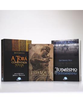 Kit 3 Livros   A Torá + Didaqué + Judaísmo e Messianismo   Jesus e o Judaísmo
