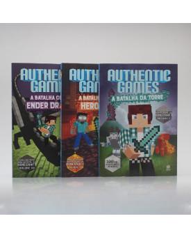 Kit 3 Livros | Authenticgames | Vol. 2 |  Marco Túlio