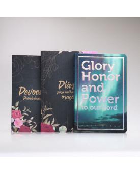 Kit Mulheres de Oração | Floral + Bíblia Mapas