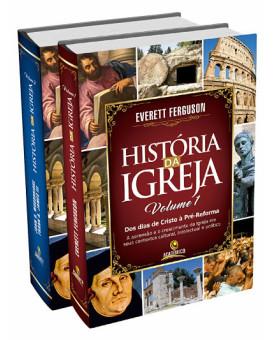 Box 2 livros | História da Igreja | Everett Ferguson