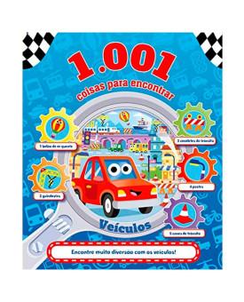 1.001 Coisas para Encontrar | Veículos | Igloo Books