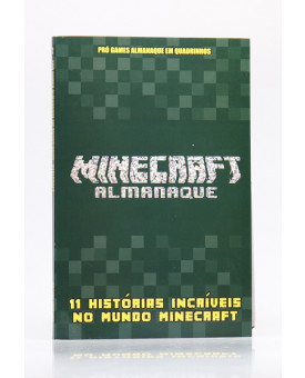 Almanaque Pró Games Minecraft   Verde