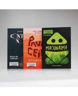 Kit 3 Livros | Mário de Andrade | Para Vestibular