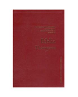Bíblia de Estudo Thompson - Almeida Contemporânea - Luxo - Vinho