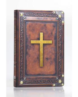 Bíblia Sagrada | NVI | Letra Normal | Capa Dura / Soft Touch | Vintage Marrom